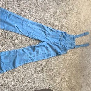 AG jeans Flared leg overalls